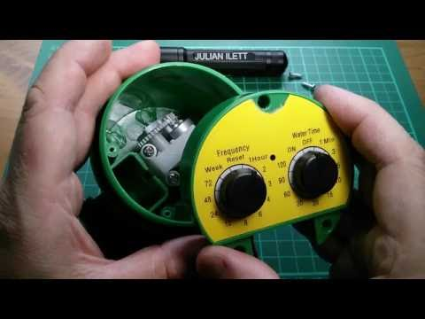 What's Inside a Garden Hose Water Timer Unit