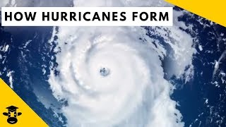 How do hurricanes form over the Atlantic Ocean