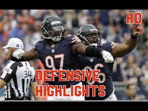 Chicago Bears 2017 Defensive Highlights HD