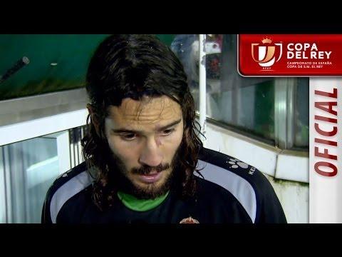 Entrevista a Mariano Sanz en el Racing de Santander - Real Sociedad - HD Copa del Rey