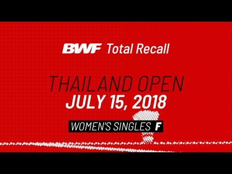 BWF Total Recall   Double Trouble   China Open 2018   Men's Doubles F   BWF 2020 from YouTube · Duration:  1 hour 1 minutes 48 seconds