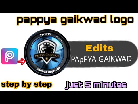 Pappya gaikwad logo png step by step || cb edit || G1 editz || pappya  gaikwad editing || new 20