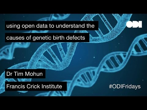 Friday Lunchtime Lecture: using open data to understand the causes of genetic birth defects