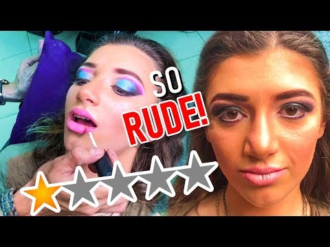 I WENT TO THE MOST EXPENSIVE WORST REVIEWED MAKEUP ARTIST IN MY CITY part 2 lol