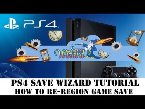 PS4 Save Wizard Tutorial | How to Re-Region Game Save