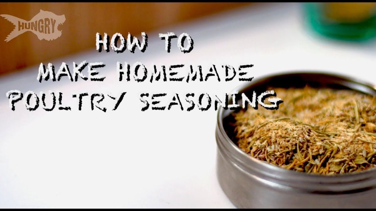 How to Make Poultry Seasoning