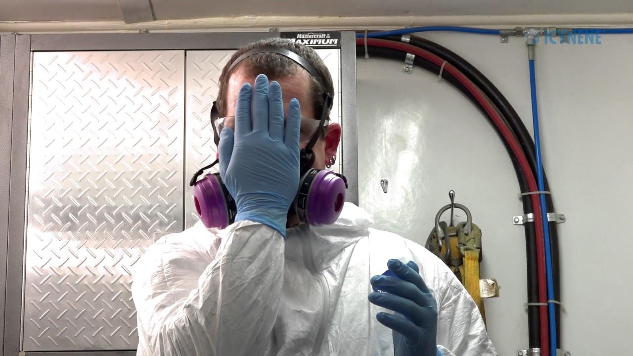 Icynene Spray Foam Insulation Personal Protective