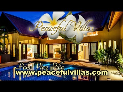 Palm View Villa: Luxury villa in Koh Samui near Lamai Beach