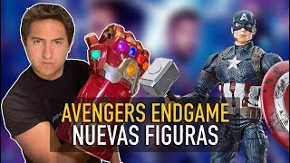 Se revelan nuevas figuras de Avengers Endgame l Unboxing