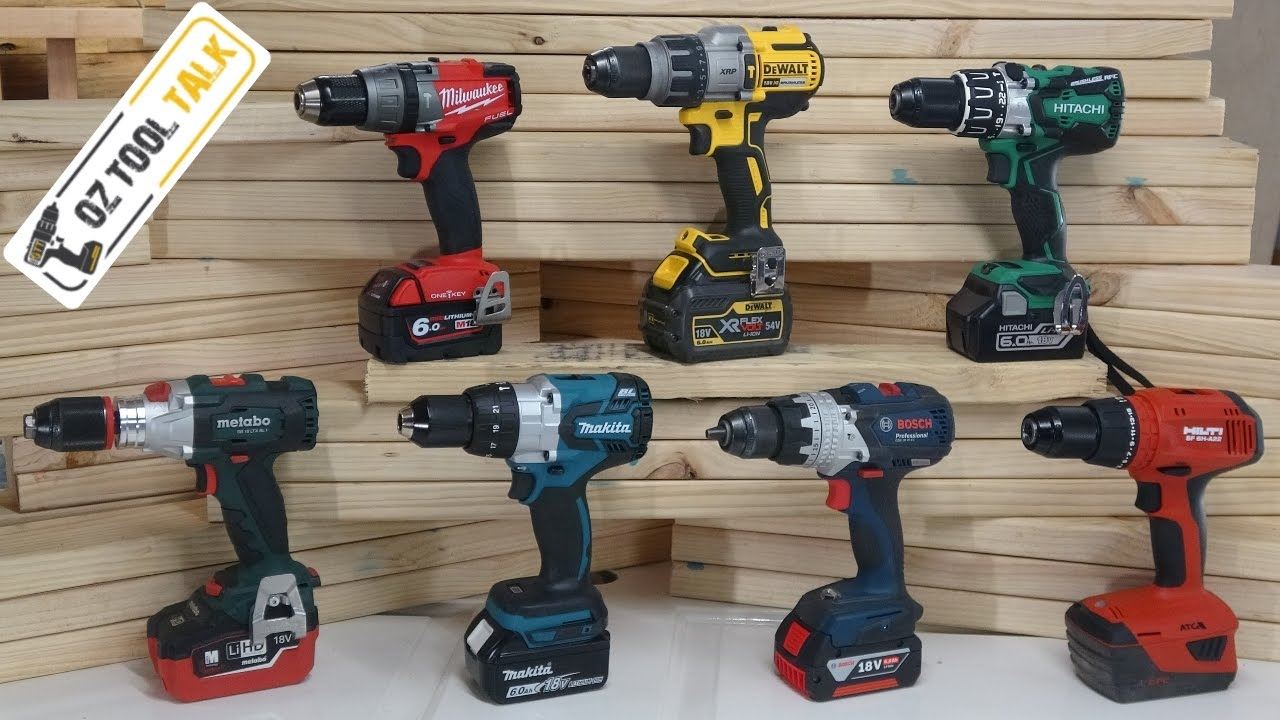 Brushless 18v Hammer Drill Fight Milwaukee Makita Dewalt Bosch Hilti Hitachi Metabo