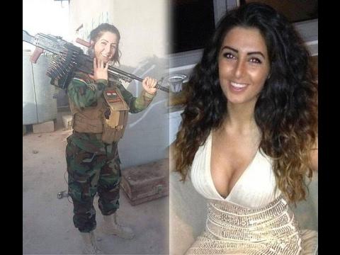 IS로부터 저승사자로 불리고 있는 23살 여대생