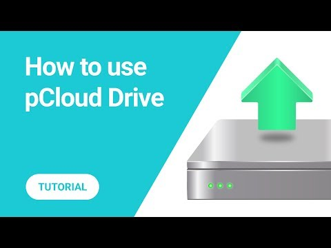 How to upload files in pCloud Drive