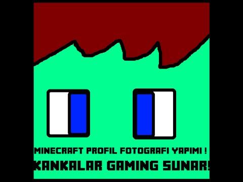 Minecraft  Profil Fotoğrafı Yapımı Sessiz
