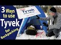 Tyvek for Backpacking Ground Cloth Cover (Winter Camping)