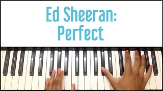Ed Sheeran - Perfect: Piano Tutorial