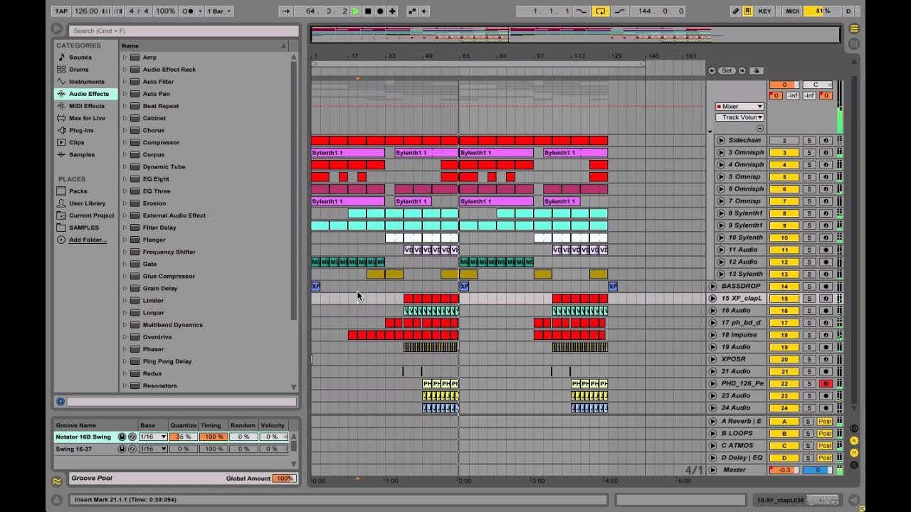 Ableton Live House Template/Project File/Construction Kit FREE ...