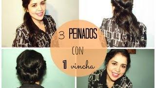 3 peinados con 1 vincha :) Thumbnail