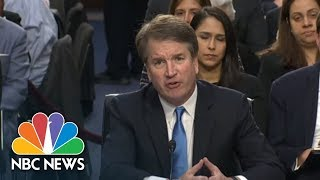 Top Moments From Brett Kavanaugh's First Day Of Questioning | NBC News