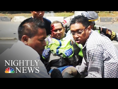 ISIS Claims Paris-Style Terror Attacks in Jakarta | NBC Nightly News