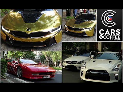 2018 Cars & Coffee Philippines (Manila) + Manila GT-R Owners Club, Gold BMW i8 and MORE!