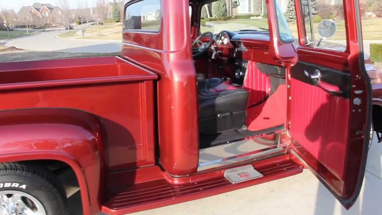 1956 Ford F-100 Pickup Classic Muscle Car for Sale in MI Vanguard ...