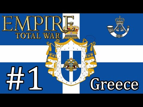 Let's Play Empire Total War: DM - Greece #1 - New Beginnings And New Enemies!