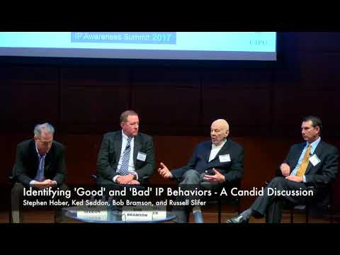 [IPAS2017] Identifying 'Good' and 'Bad' IP Behaviors - A Candid Discussion