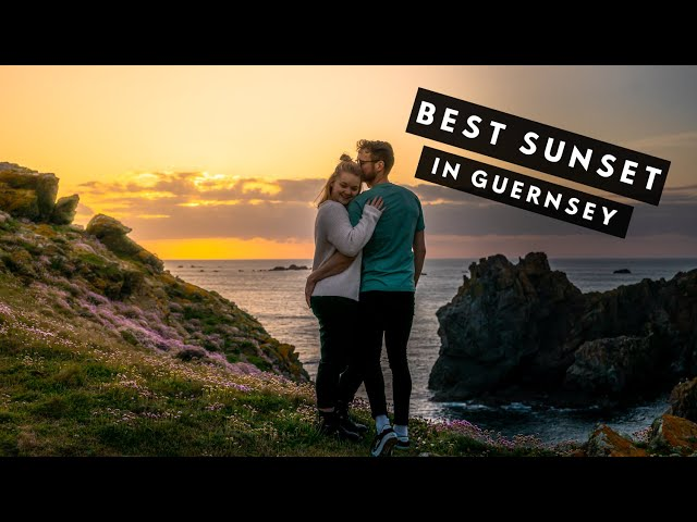 BEST SUNSET IN GUERNSEY | The Last of the Summer Sun