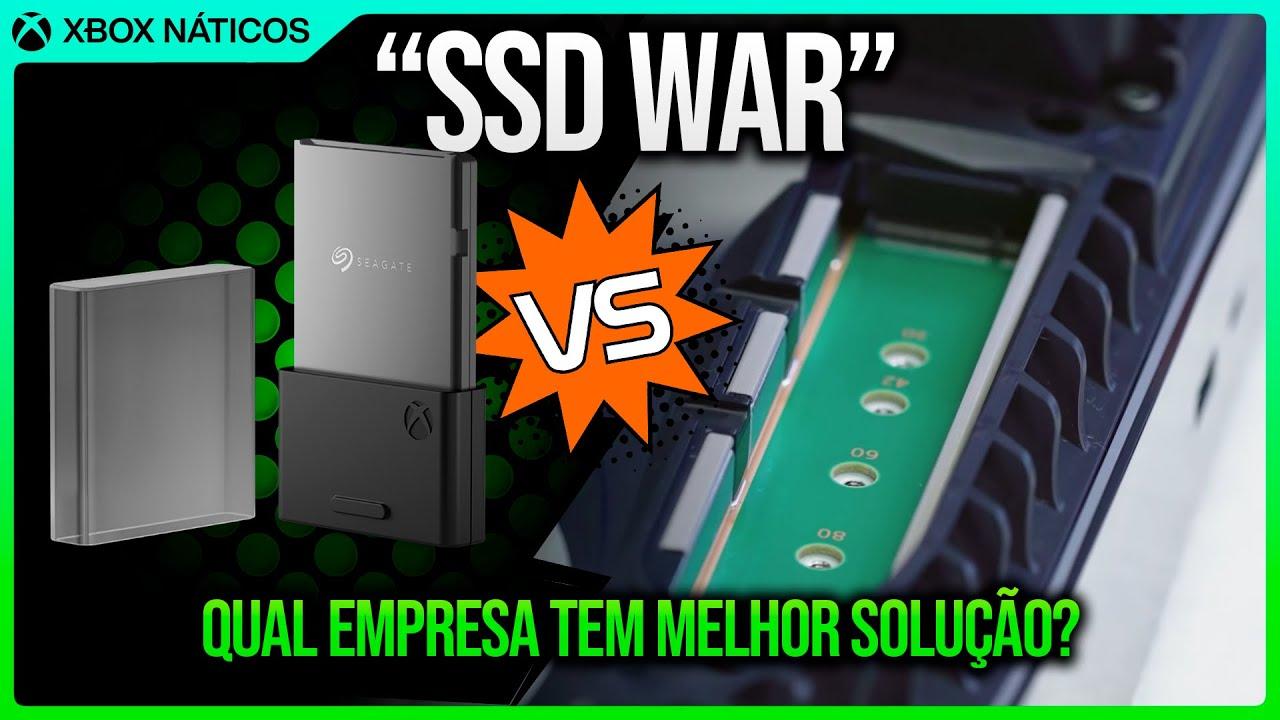 Xbox Series X   S vs PS5 - Qual tem a melhor solução de expansão?