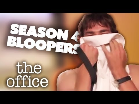 Season 4 Bloopers - The Office US | Comedy Bites