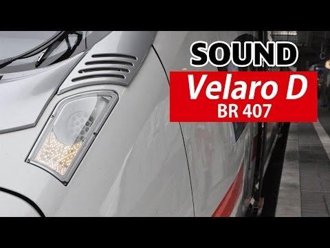 [Sound] DB Baureihe 407//Siemens 'Velaro D'//IGBT-inveter//ICE 816 full journey