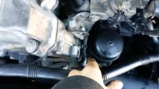 BMW Z3 4 cylinder oil leak from filter housing