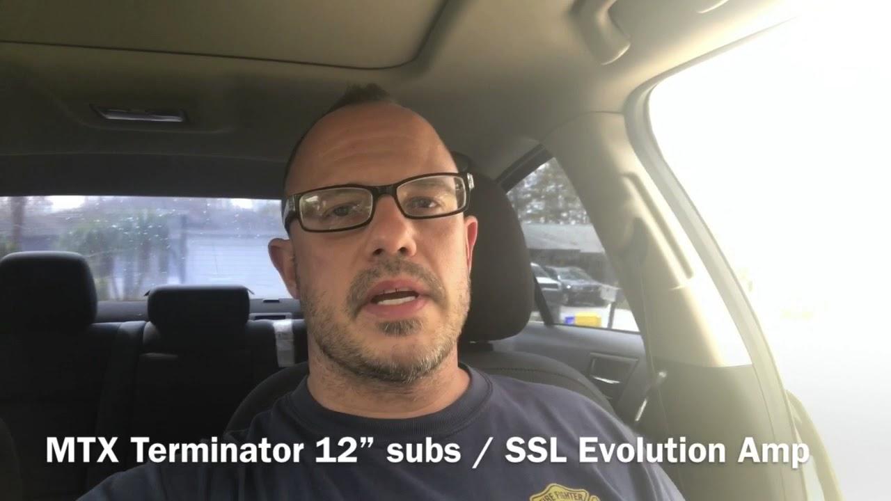 "New MTX 12"" Subs w/ SSL Evolution 1500w Amp - YouTube"