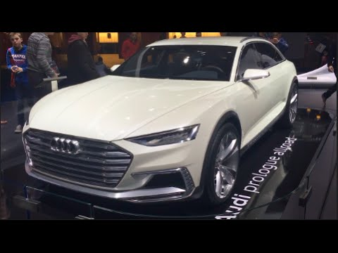 Audi prologue allroad Concept 2016 In detail review walkaround Exterior