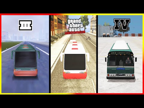 """Evolution of """"BIGGEST LAND vehicle"""" in GTA Games! (+Locations) 