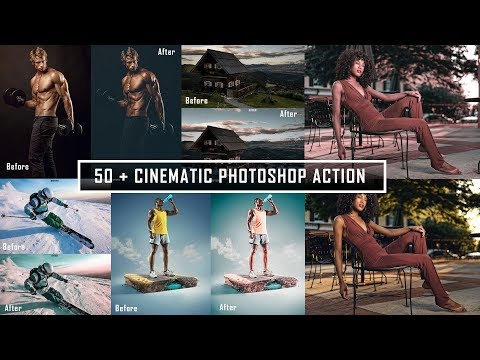 50+ CINEMATIC COLOR GRADING PHOTOSHOP ACTION FREE  AGAIN ! !