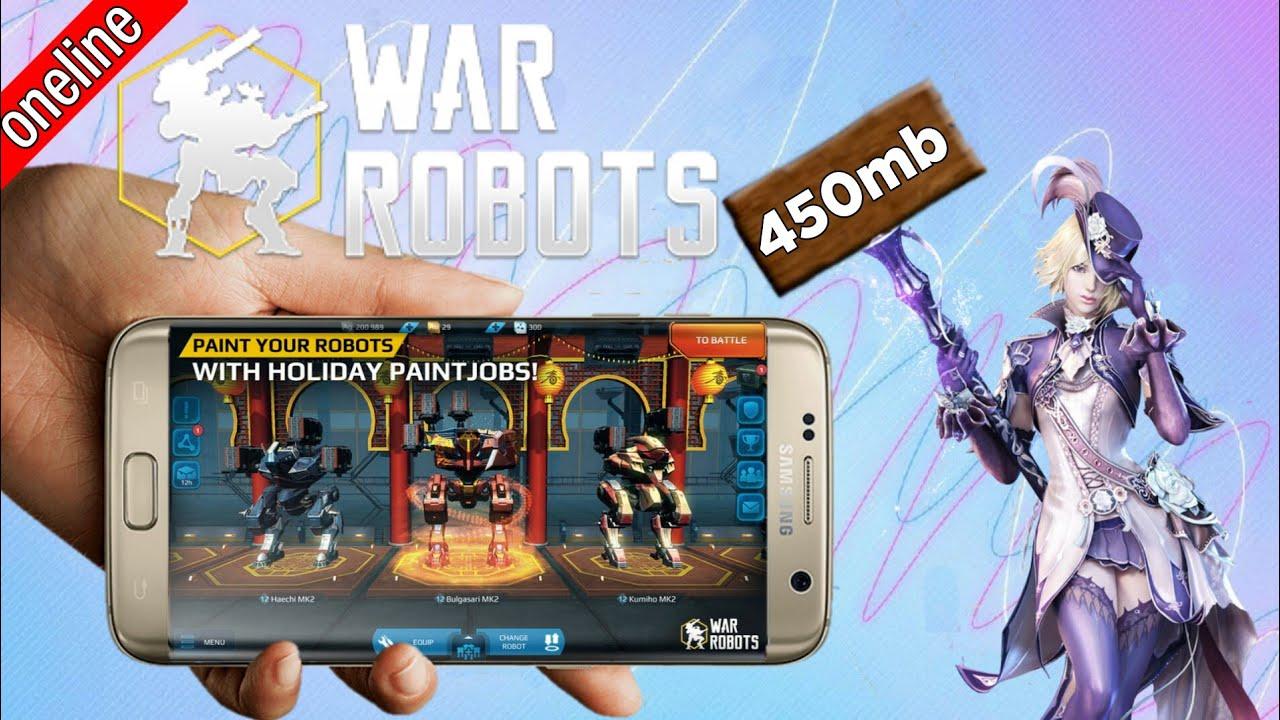 تحميل لعبة war robots للكمبيوتر مهكرة