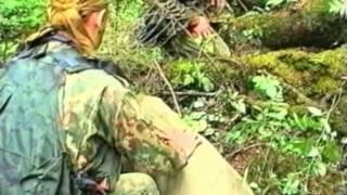 Спецназ ВДВ. Оборудование и маскировка тайника-схрона.