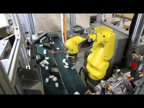 3D Vision Guided Robotic Assembly