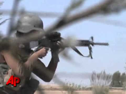 Download Raw Video: Troops in Firefight With Taliban