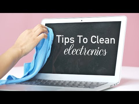 How To Clean & Disinfect Electronic Devices