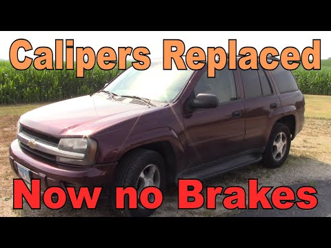Chevy Trailblazer – No Rear Brakes after DIY Replacement – A/C Compressor, Blower, Axle Seals – P2