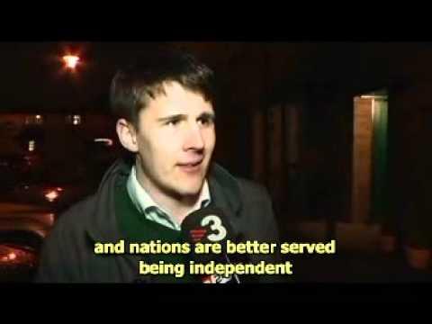 Catalan TV on Scottish referendum