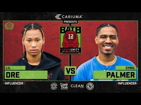 BATB 12: Lil Dre Vs. Cyril C-Roy Palmer - Round 1