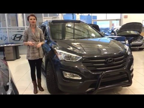 2016 Hyundai Santa Fe Sport 2.0T Limited | Black Out Edition | Sherwood Park Hyundai