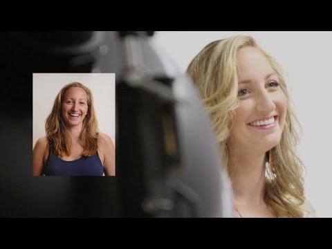 video:Glamour photo shoot - uncover the beautiful woman within