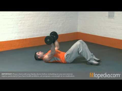Dumbbell Reverse Floor Press