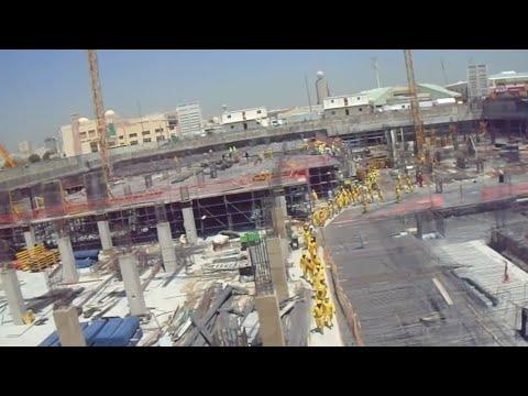 Dubai Construction Site || Emergency Evacuation Drill || Civil Engineer FBH