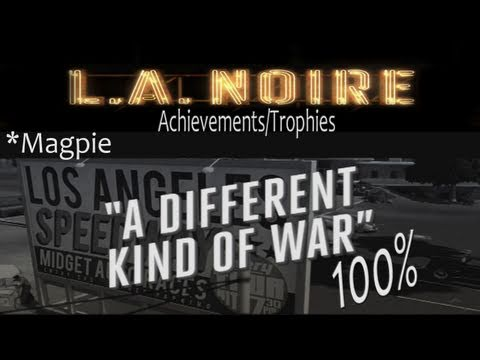 LA Noire Walkthrough 'Different Kind of War' (No Spoilers) Guide 100%