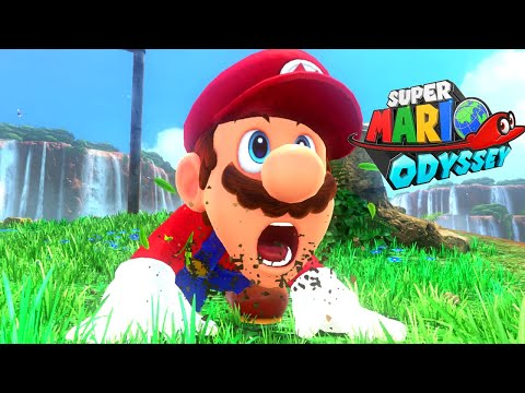 Super Mario Odyssey - Full Game Walkthrough